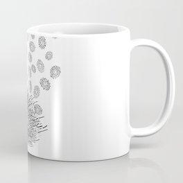 Hedgehog Flower Coffee Mug