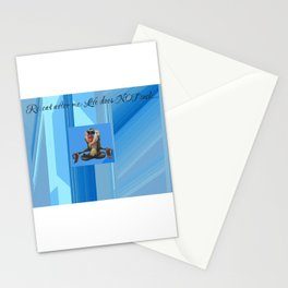 life sayings Stationery Cards