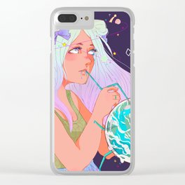 Taste of Nature Clear iPhone Case