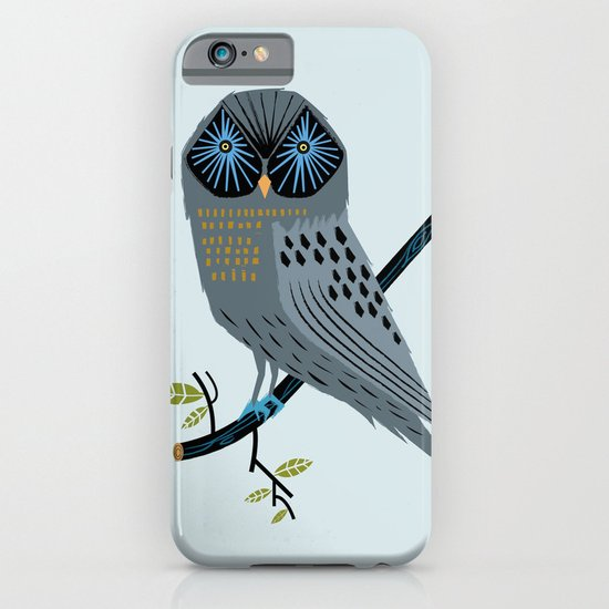 The Perching Owl iPhone & iPod Case