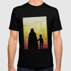 Darth Father's Day  MEDIUM Black Mens Fitted Tee