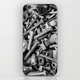 Nuts and Bolts iPhone Skin