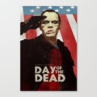Bub The Friendly Zombie Canvas Print