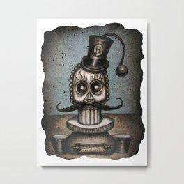 Sugar Master Metal Print