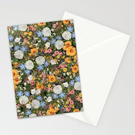 Shabby Chic Maximalist Summer Garden Stationery Cards