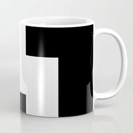 The Baxter's balaclava glyph on Black Mirror Coffee Mug