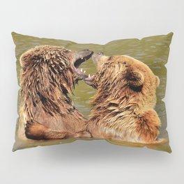 Brown Bears Pillow Sham
