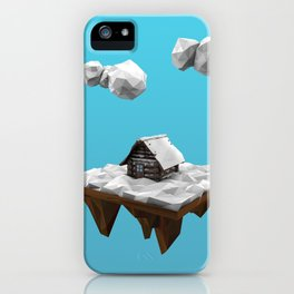 lowpoly winter iPhone Case