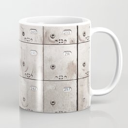Chests with numbers Coffee Mug