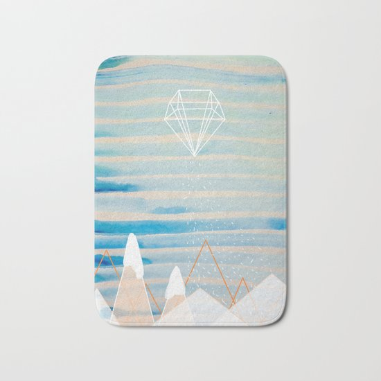 Summer is Far Far Away Bath Mat
