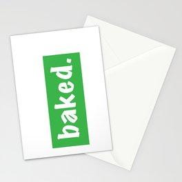 Baked Stationery Cards
