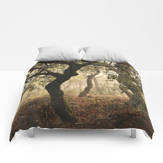 """Enchanted forest"". Follow your dreams..... Comforters"