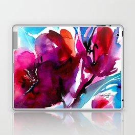 Colorful Bloom No. 2 by Kathy Morton Stanion Laptop & iPad Skin
