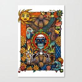 Por los muertos Canvas Print