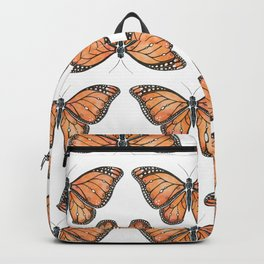 Watercolor Monarch Butterfly Backpack