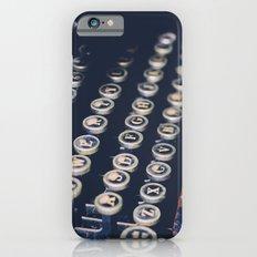 typewriter keys iPhone 6s Slim Case