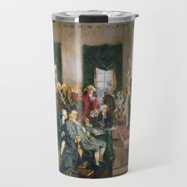 The Signing of the Constitution of the United States - Howard Chandler Christy Travel Mug