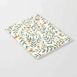 Oranges Foliage Notebook