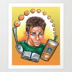 Derek Zoolander Art Print