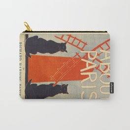 ABOUT PARIS VINTAGE POSTER Carry-All Pouch