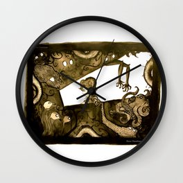 Are you really Alone? Wall Clock