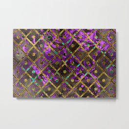 Pattern LXXXV Metal Print