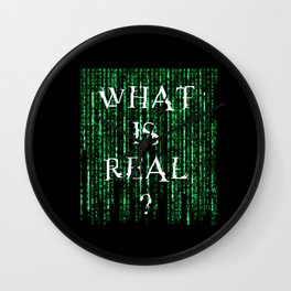 What is real? Wall Clock