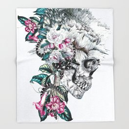 Momento Mori Rev V Throw Blanket