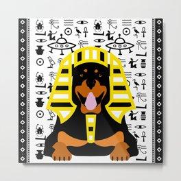 GOD DOG Metal Print