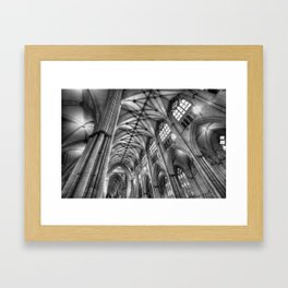 York Minster Interior Framed Art Print