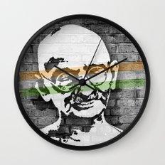Gandhi Wall Clock