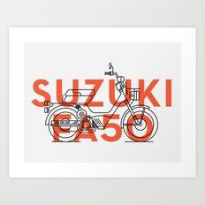 SUZUKI FA50 Art Print