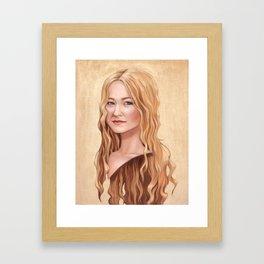 Eowyn Framed Art Print
