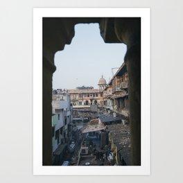 Old Delhi Spice Market (India) Art Print