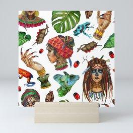 VoodoWitch Pattern #6 Mini Art Print