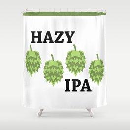 Hazy IPA Shower Curtain