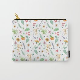 Essential Flowers Carry-All Pouch