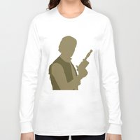 han solo Long Sleeve T-shirts featuring Han Solo by olive hue designs