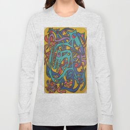 Breakfast At The Paradigm Shift Long Sleeve T-shirt