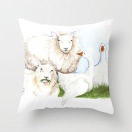Imprinting Throw Pillow