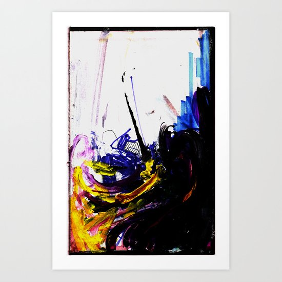 Loose Lips Art Print