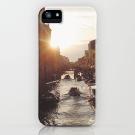 BOAT - STREETS - RIVER - TOWN - LIFE - CULTURE - PHOTOGRAPHY iPhone Case