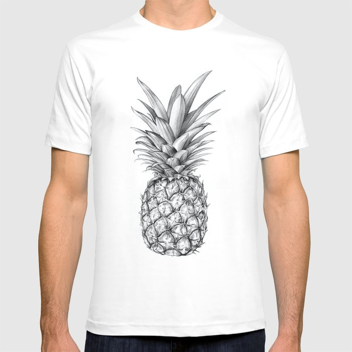 pineapple t shirt by siblingandco society6. Black Bedroom Furniture Sets. Home Design Ideas