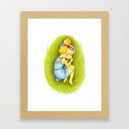 Animal Crossing: Queen Isabelle  Framed Art Print