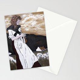 Lace Curtain Irish Stationery Cards