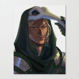 Good Crow Canvas Print