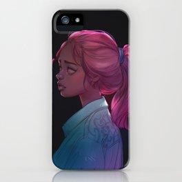 Jean jacket iPhone Case
