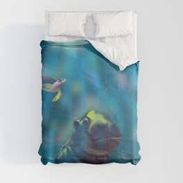 Playful waters Comforters