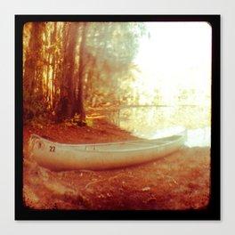 TTV Caddo Lake Canoe  Canvas Print