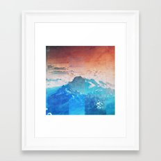 Fractions A77 Framed Art Print